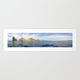 Panoramic Shot Arch Cabo Art Print