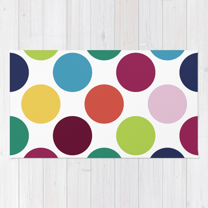 Colorful Dots Rug