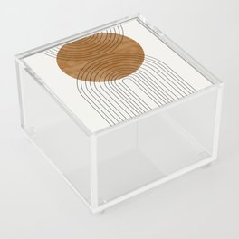 Abstract Flow Acrylic Box
