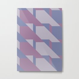 Lavender Way #society6 #lavender #pattern Metal Print