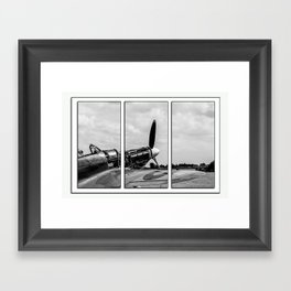 Hawker Hurricane Tryptych Framed Art Print