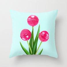 TULIPOPS Throw Pillow
