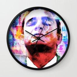 "Johnny Cash ""Hurt"" Wall Clock"