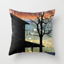 Winter Electric Throw Pillow