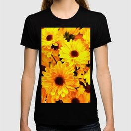 Daisies Yellow 3 T-shirt