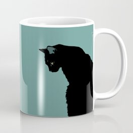Blue Cat Coffee Mug