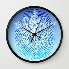 Perfectly Unique Wall Clock