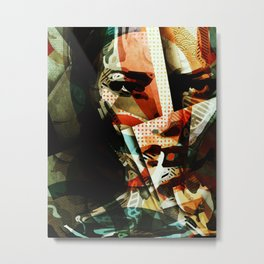 Girl about town Metal Print
