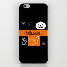 halloween! iPhone & iPod Skin