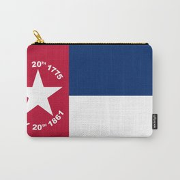 North Carolina Secession Flag Carry-All Pouch