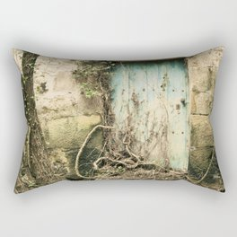 Puerta azul  Rectangular Pillow