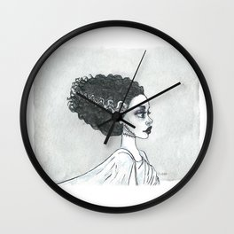 The (sweet) bride Wall Clock