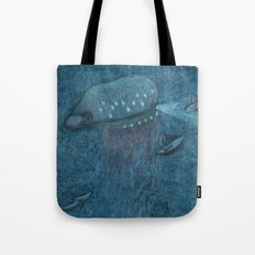 Jellyfish Submarine Tote Bag