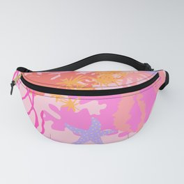 Coral Reef in Pink Fanny Pack