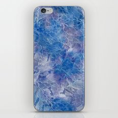Frozen Leaves 11 iPhone & iPod Skin