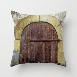 Door II Throw Pillow