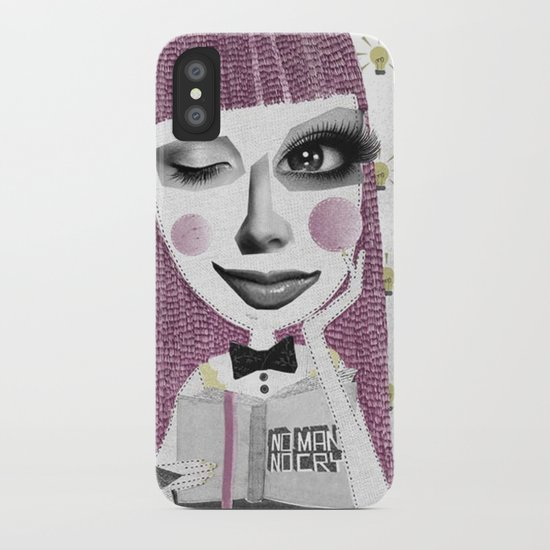 I think therefore I am... single iPhone Case