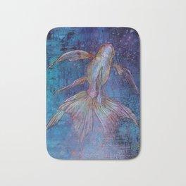 Indigo Goldfish Bath Mat