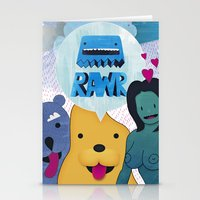returns Stationery Cards featuring Rawr Returns! by mrbiscuit