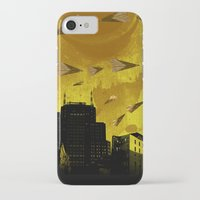 airplanes iPhone & iPod Cases featuring airplanes and cigarettes by Trevor Bittinger