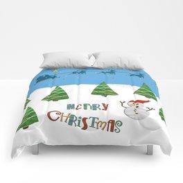 Christmas motif No. 1 Comforters