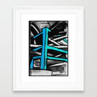 concrete Framed Art Prints featuring Concrete by Jonas Ericson