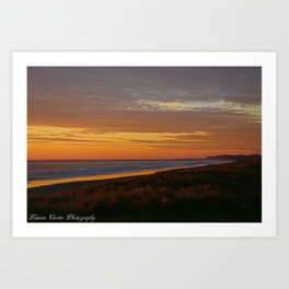 Rolling Waves Art Print