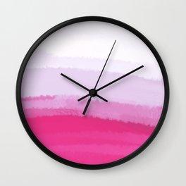 Sea - Line Clolor Pattern V3 Wall Clock