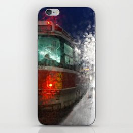Rain Rider iPhone Skin