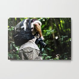 Adventure into the Rainforest Metal Print