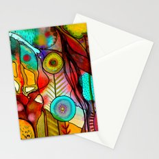 terre d'accueil Stationery Cards