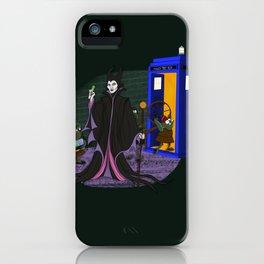 Sleeping Blue Box iPhone Case