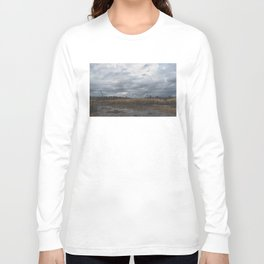 Crane in the Swamp Long Sleeve T-shirt