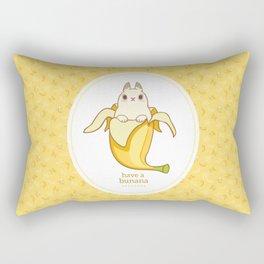Have a BUNana Rectangular Pillow