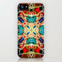 Ornament Vibrant Abstract Design iPhone Case