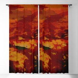 Confusing Colour Structures Blackout Curtain
