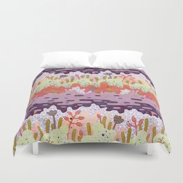 Crystal Forest Duvet Cover