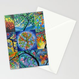 forest of dreams collages Stationery Cards