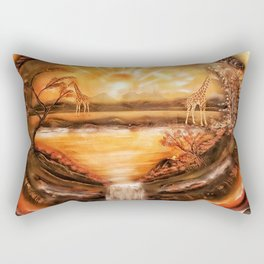 Africa is alive Rectangular Pillow