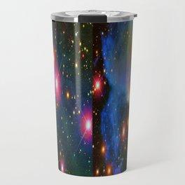 A Nebula showing off its colors Travel Mug