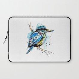 Bold Kingfisher  Laptop Sleeve