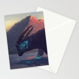 Mountain God Stationery Cards