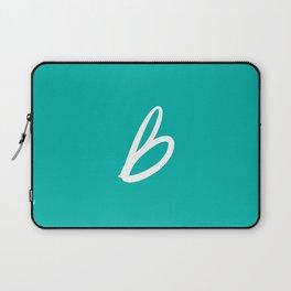 Recettes du Bonheur - Bleu Laptop Sleeve