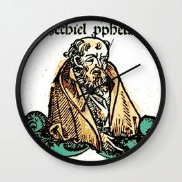 Prophet Ezechiel Wall Clock