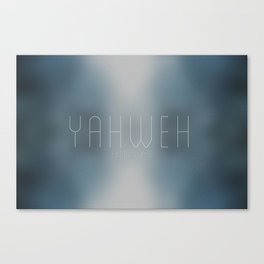 Yaweh | Exodus 3:15 Canvas Print