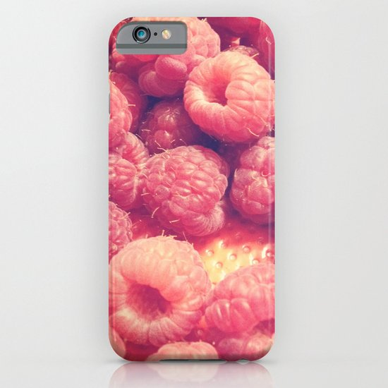 Raspberries iPhone & iPod Case