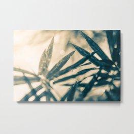 bamboo move Metal Print