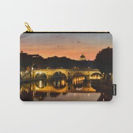 St. Peter in the Vatican with Ponte Sisto in first term. Carry-All Pouch