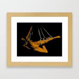 The hanging girl II Framed Art Print
