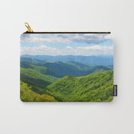 Smokey Mountain Summer Carry-All Pouch
